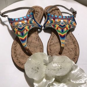 SAM & LIBBY TRIBAL SANDALS